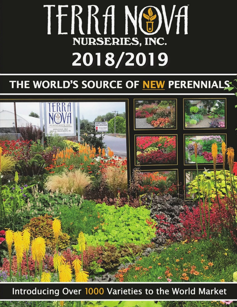 TERRA NOVA® Nurseries, Inc. 2018/2019 Catalog
