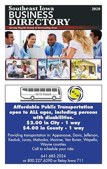 Southeast Iowa, Business Directory