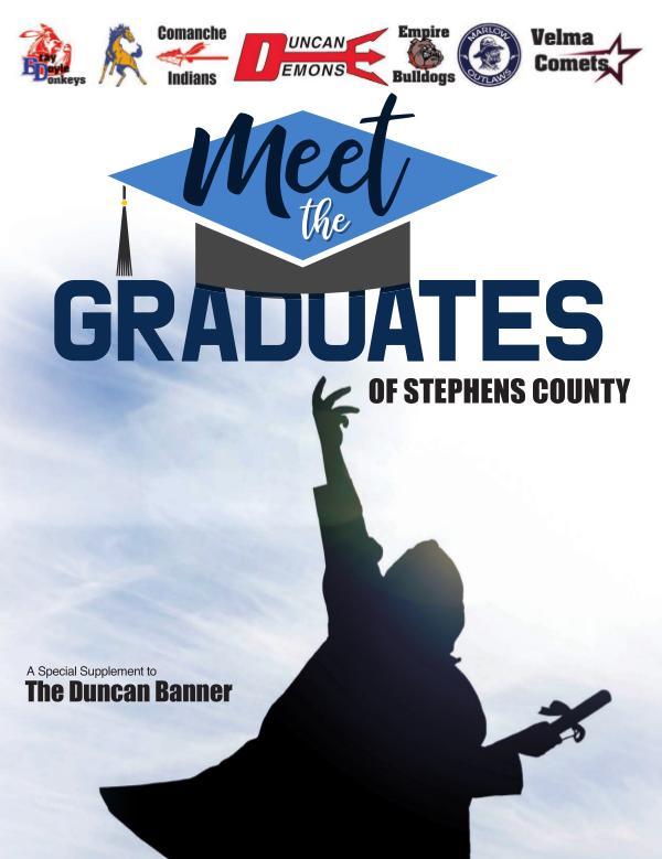 Stephens County Graduating Class 2020