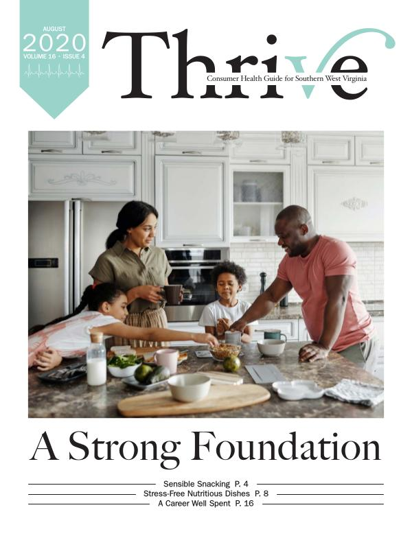 Thrive-Health Guide Southern West Virginia August 2020