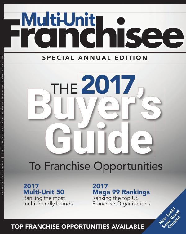 Multi-Unit Franchisee Magazine Special Edition