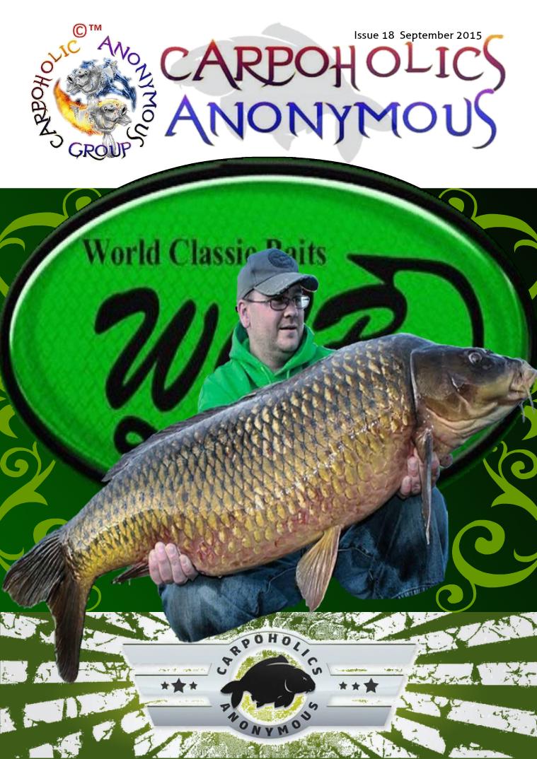 Carp Angler Magazine CAM, Carpoholic Anonymous Issue 18, September 2015