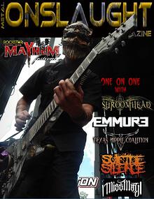 METAL ONSLAUGHT MAGAZINE AUGUST 2014