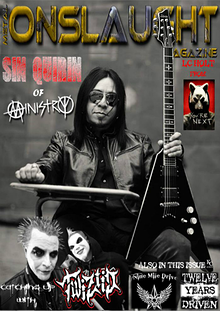 METAL ONSLAUGHT MAGAZINE OCTOBER EDITION