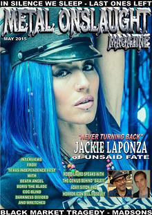 Metal Onslaught Magazine May 2015