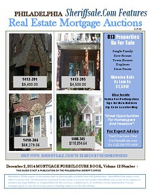 December 2, 2014 Mortgage Foreclosure Auction