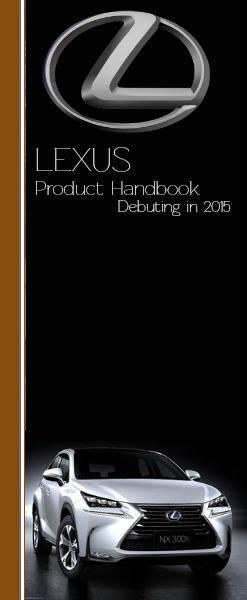 Automotive Manuals 2015 Lexus of Massapequa Product Handbook