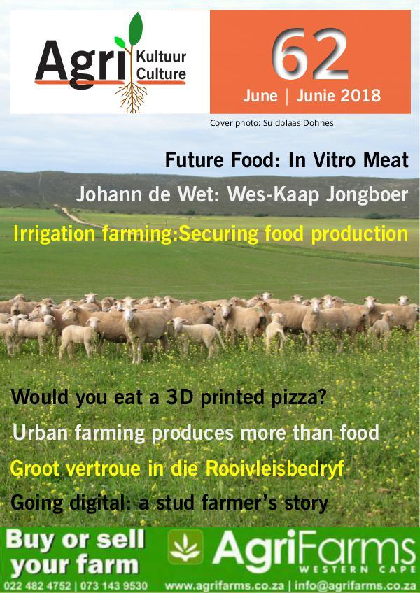 Agri Kultuur June / Junie 2018