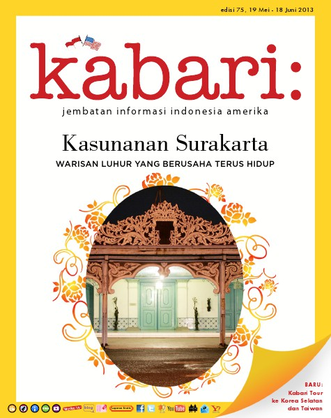 Majalah Digital Kabari Vol: 75 Mei - Juni 2013