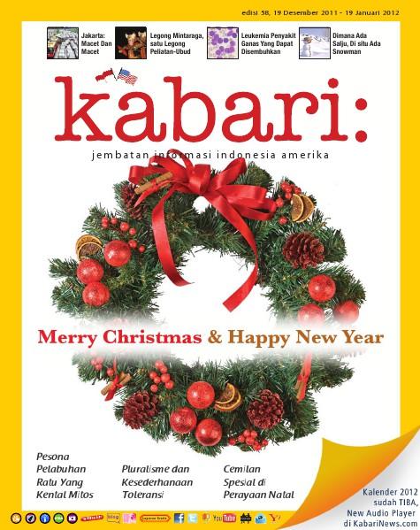 Vol: 58 Desember 2011 - Januari 2012