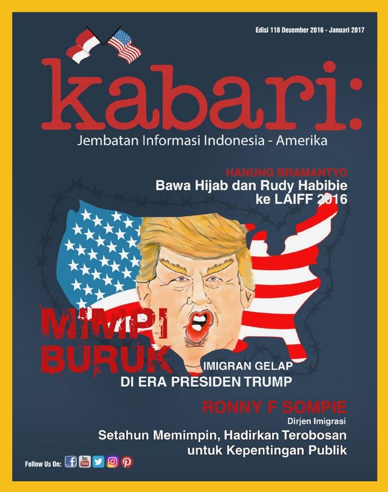 Majalah Kabari Vol 118 Desember 2016 - Januari 2017