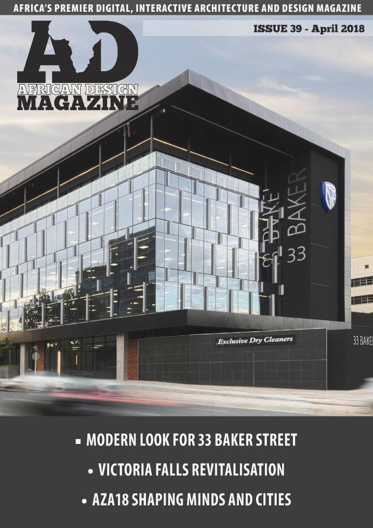 African Design Magazine ADM #39 April 2018
