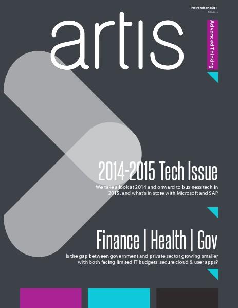 Artis Advanced Thinking Magazine, Issue 1. Nov 14 Issue 1.