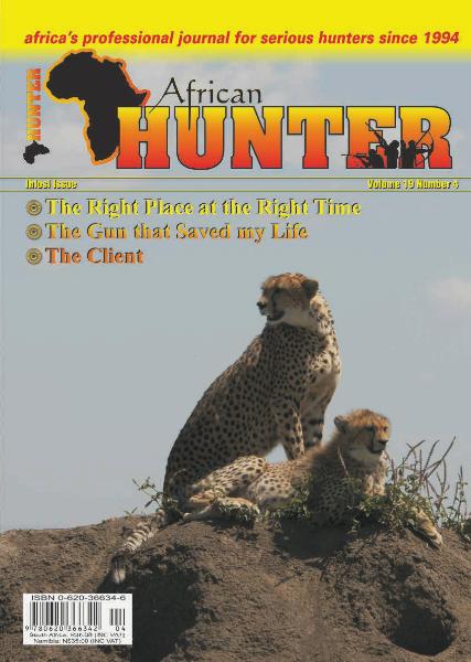 The African Hunter Magazine Volume 19 # 4
