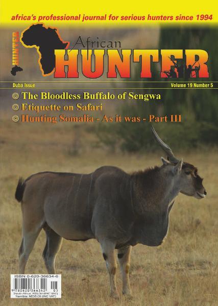 The African Hunter Magazine Volume 19 # 5