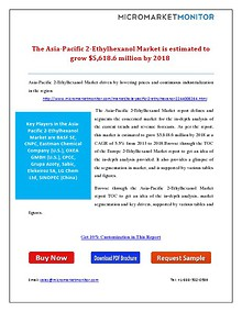 The Asia-Pacific 2-Ethylhexanol Market is estimated to grow $5,618.6