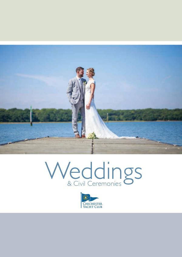 Club Information Wedding Brochure