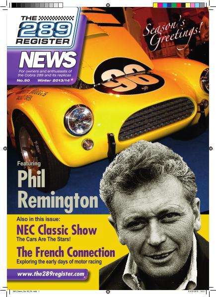 The 289 Register News No 50 Winter 2013