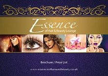 Essence of Hair and Beauty Brochure 2014