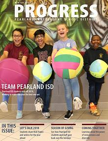 Pearland ISD Progress Magazine