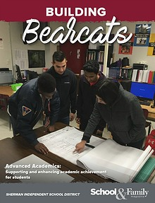 Sherman ISD Building Bearcats Magazine