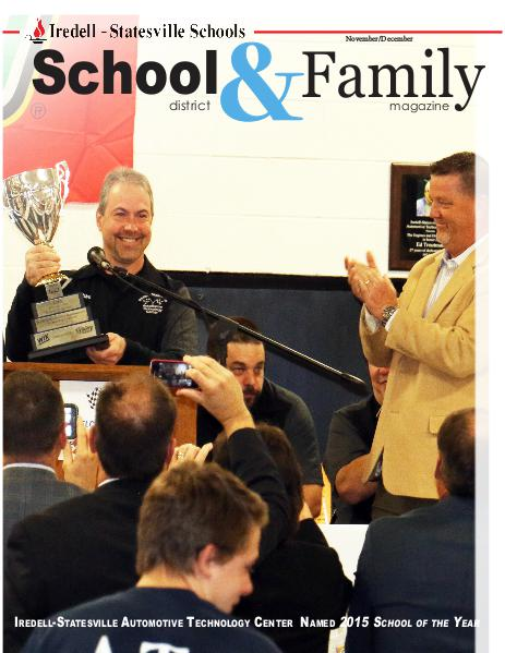 Iredell-Statesville Schools School & Family Magazine November/December 2015