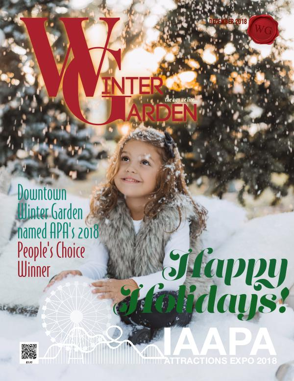 Winter Garden Magazine December 2018