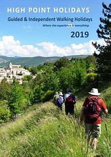 High Point Holidays Walking Holidays Brochure 2019