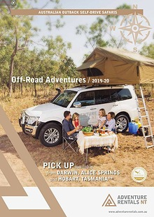 Adventure Rental: Product Brochure 2019-20