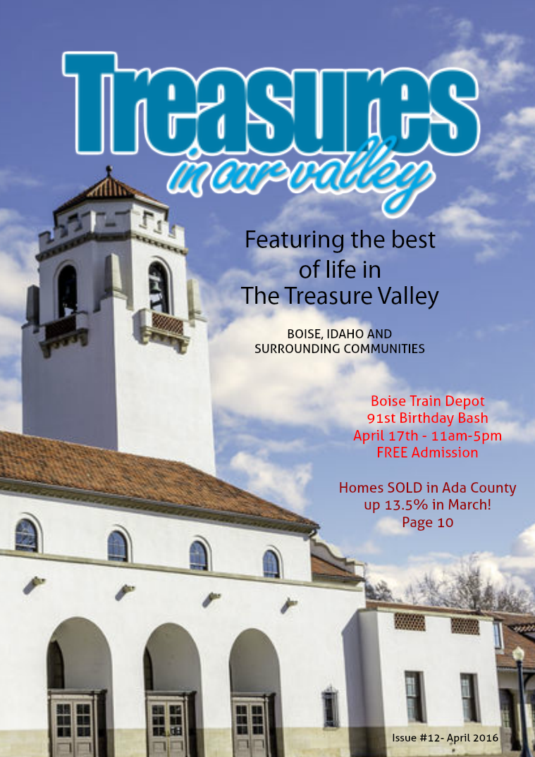 Treasures In Our Valley April 2016