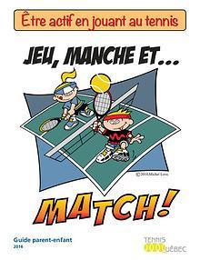 Tournée de tennis scolaire - Guide parent-enfant