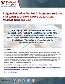 Polyphthalamide Market is Projected to Grow at a CAGR of 7.38%