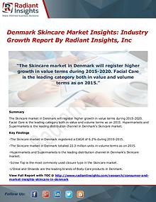 Denmark Skincare Market Insights - Industry Growth Report