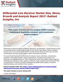 Differential Line Receiver Market Size, Share, Growth 2017