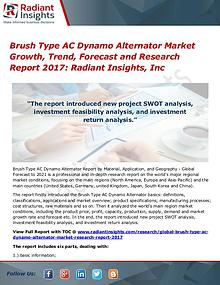 Brush Type AC Dynamo Alternator Market Growth, Trend, Forecast 2017