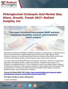 Phloroglucinol Carboxylic Acid Market Size, Share, Growth, Trend 2017