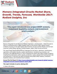 Memory Integrated Circuits Market Share, Growth, Trends 2017