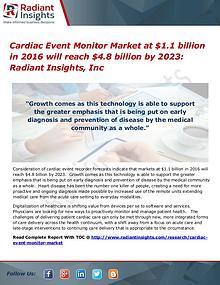 Cardiac Event Monitor Market will reach $4.8 billion by 2023