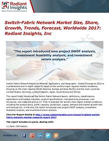 Switch-Fabric Network Market Size, Share, Growth, Trends 2017