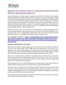 Industrial Air Filtration Market 2020