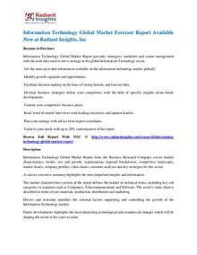 Information Technology Market Forecast Report