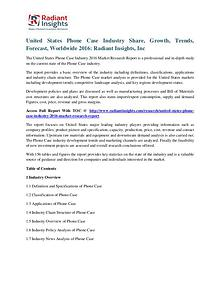 United States Phone Case Industry Share, Growth, Trends, Forecast