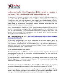 Latin America in Vitro Diagnostics (IVD) Market 2024
