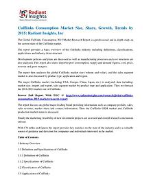 Cufflinks Consumption Market Size, Share, Growth, Trends by 2015