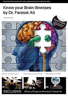 Know your Brain Illnesses by Psychiatrist Dr. Farasat Ali