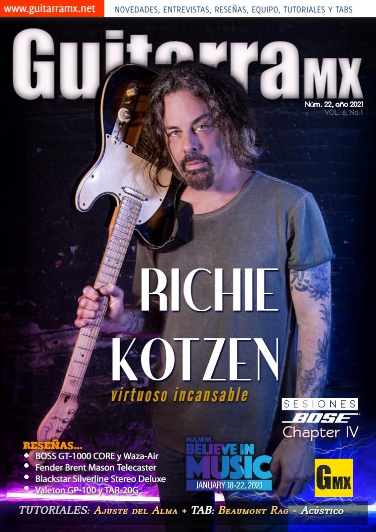 Revista GuitarraMX NÚMERO 22 - 2021
