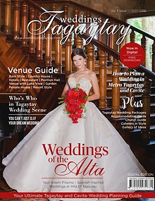 Weddings Tagaytay Magazine
