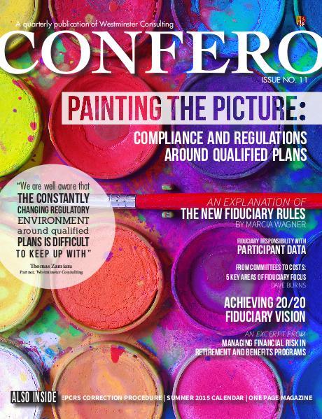 Confero Summer 2015: Issue 11
