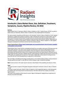 Interleukin 1 Beta Market Share, Size, Definition, 2016
