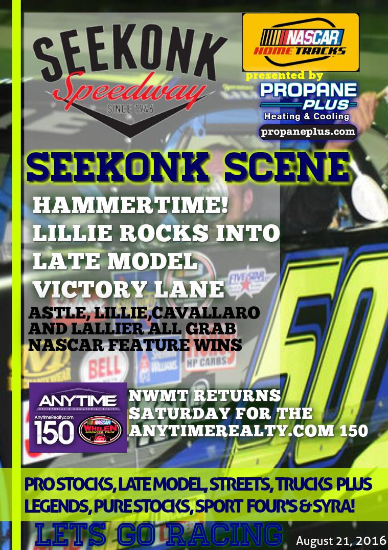 Seekonk Speedway Race Magazine September 2-3 Weekend